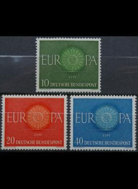 Vokietija, pilna serija MiNr 337-339 MNH**