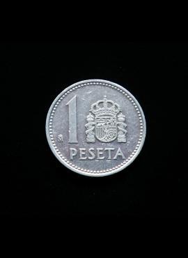 Ispanija, 1 peseta 1987m