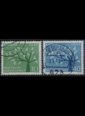Vokietija, pilna serija MiNr 383-384 Used(O)
