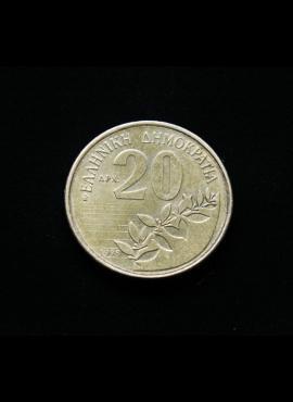 Graikija, 20 drachmų 1998m