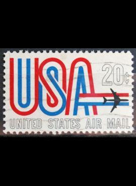JAV, oro paštas ScNr C75 Used(O)