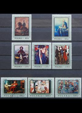 Lenkija, pilna serija ScNr 1602-1609 MNH**/Used(O)