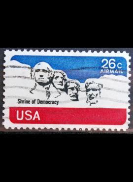 JAV, oro paštas ScNr C88 Used(O)