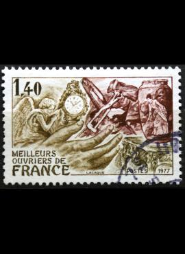 Prancūzija, 10 frankų, 1976m