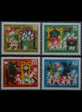 Vokietija, pilna serija, MiNr 408-411 MNH**