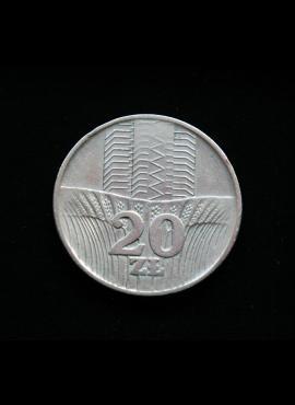 Lenkija, 20 zlotų 1973m
