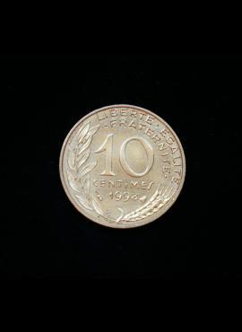 Prancūzija, 10 santimų 1998m