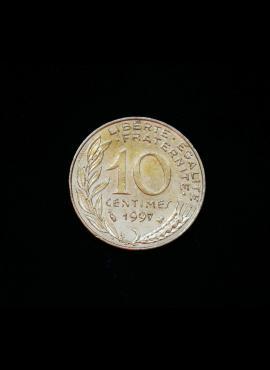 Prancūzija, 10 santimų 1997m