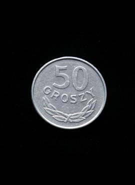 Lenkija, 50 grašių, 1987m