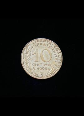 Prancūzija, 10 santimų 1996m
