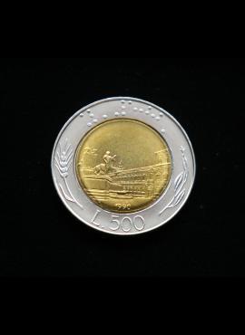 Italija, 500 lirų 1990m