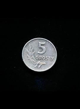 Lenkija, 5 grašiai 1959m