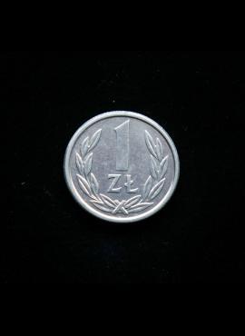 Lenkija, 1 zlotas 1989m