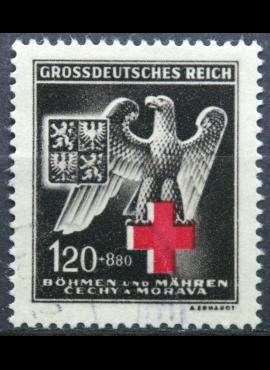 Vokietijos Reichas, Čekijos okupacija MiNr 132 Used(O)