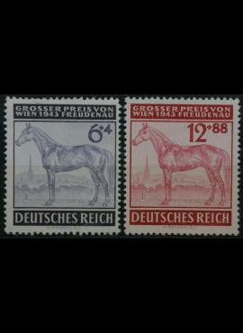 Vokietijos Reichas, pilna serija, MiNr 857-858 MNH**