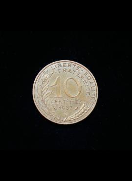 Prancūzija, 10 santimų 1987m
