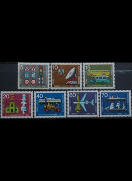 Vokietija, pilna serija MiNr 468-474 MNH**