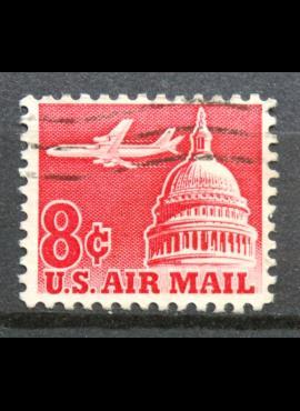 JAV, oro paštas ScNr C64 Used(O)