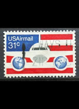 JAV, oro paštas ScNr C90 Used(O)