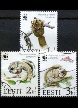 Estija, ScNr 270-272 Used(O) E