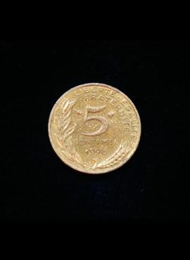 Prancūzija, 5 santimai 1998m
