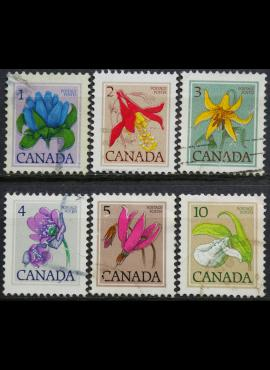 Kanada, pilna serija ScNr 705-711 Used(O)