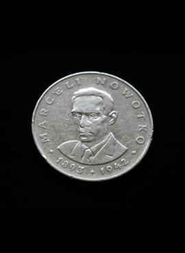 Lenkija, 20 zlotų 1974m MW