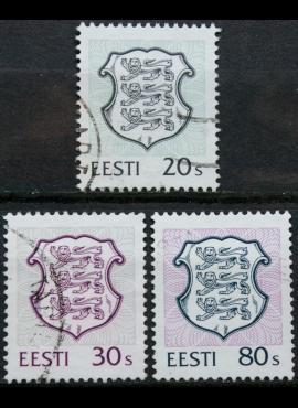 Estija, pilna serija ScNr 299-301 Used(O) E
