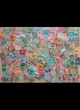 300 vnt + Vokietijos mix pašto ženklų pakuotė HF001