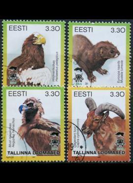 Estija ScNr 319 A-C, F Used(O) E