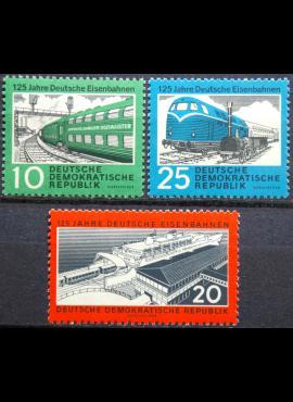 Vokietijos Demokratinė Respublika (VDR), pilna serija MiNr 804-806 MNH**