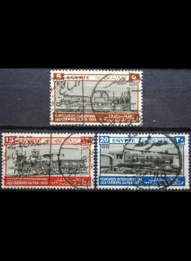 Egiptas ScNr 168-169, 171 Used(O)