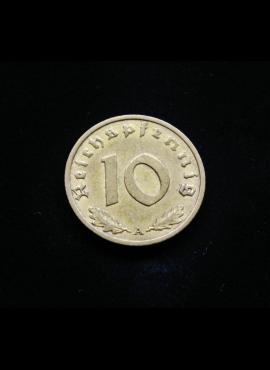 Vokietija, Trečiasis Reichas 10 reichspfenigų 1937m-A