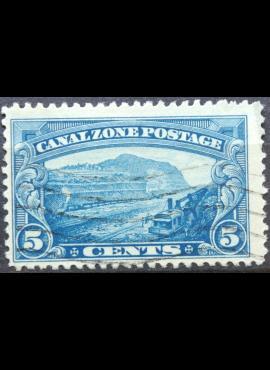 JAV, Kanalo zona ScNr 107 Used(O)