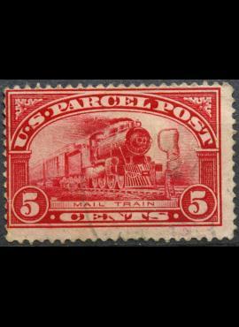 JAV, siuntinių paštas ScNr Q5 Used(O)