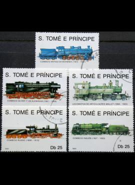 San Tomė ir Prinsipė, pilna serija ScNr 924-928 Used(O)