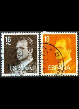 Ispanija ScNr 2187, 2189 Used(O)
