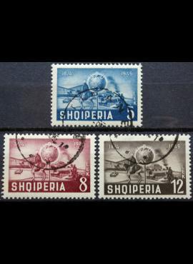 Albanija, pilna serija MiNr 482-484 Used (O)