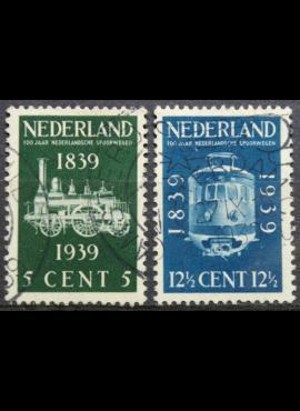 Nyderlandai, pilna serija ScNr 214-215 Used(O)