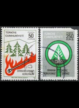Turkija, pilna serija ScNr 2083-2084 Used(O)