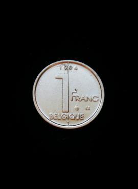 Belgija (Belgique), 1 frankas, 1994m