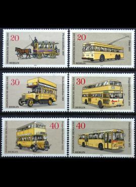 Vokietija, Vakarų Berlynas, pilna serija MiNr 446-451 MNH**