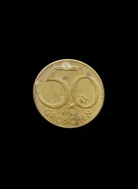 Austrija, 50 grošenų, 1973m