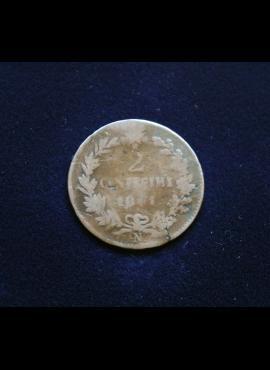Italija, 2 čentezimai 1861m-N
