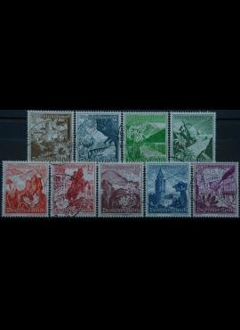 Vokietijos Reichas, pilna serija MiNr 675-683 Used(O)