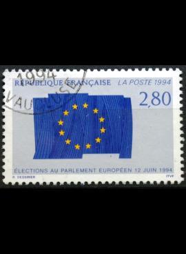 Belgija (Belgie), 1 frankas, 1990m