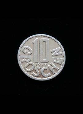 Austrija, 10 grošenų, 1979m