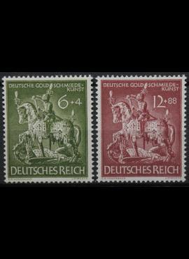 Vokietijos Reichas, pilna serija, MiNr 860-861 MNH**