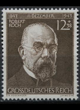 Vokietijos Reichas, MiNr 864 MH*
