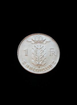 Belgija (Belgique), 1 frankas, 1978m